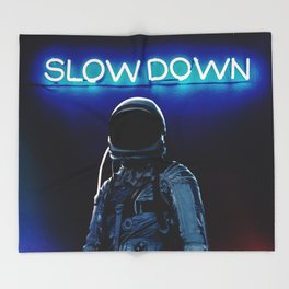 Slow Down Throw Blanket