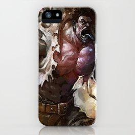 League of Legends Dr. MUNDO iPhone Case