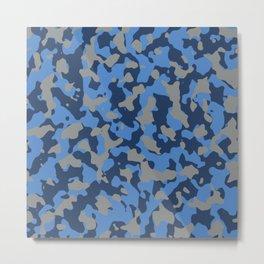 Camouflage Marina Metal Print