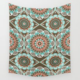 Toned Variety Pattern Wall Tapestry