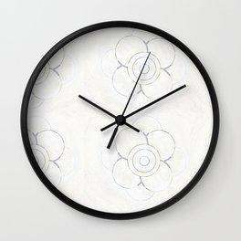 Palest Pattern Wall Clock