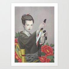 Hibotan Art Print