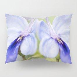 Blue Glory Bower Pillow Sham