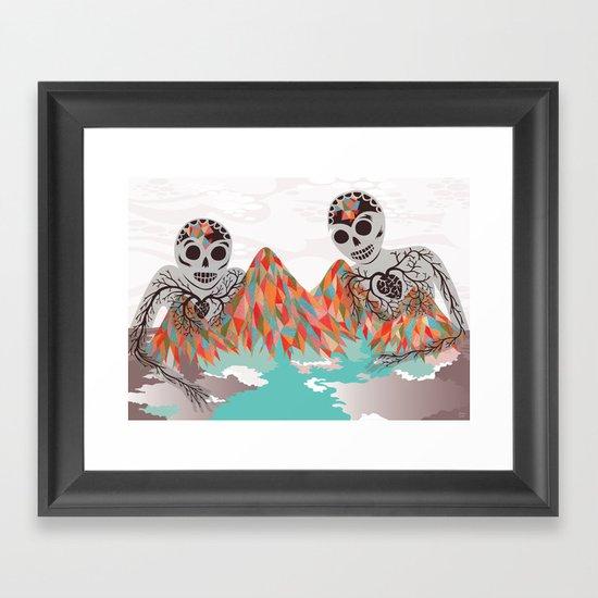 Spectres Framed Art Print