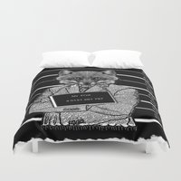 mr fox Duvet Covers featuring Mr fox.. by ZefxisJR281