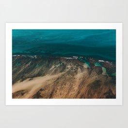 Hawaiian Sea Art Print