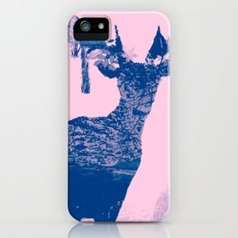 Hirsch Blue iPhone Case