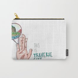 This is Traverse City Carry-All Pouch