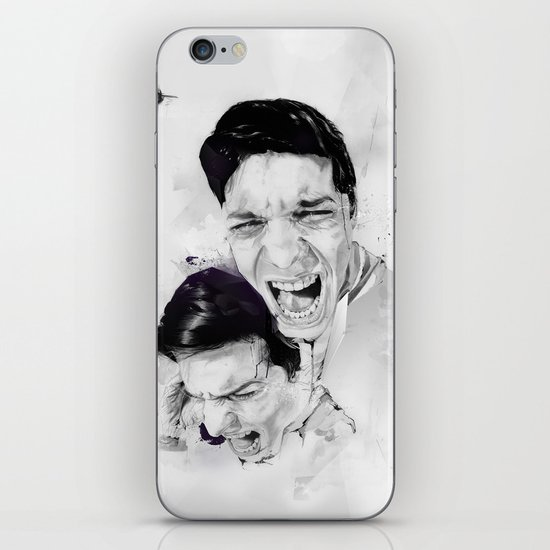 100 Days of Chaos iPhone & iPod Skin