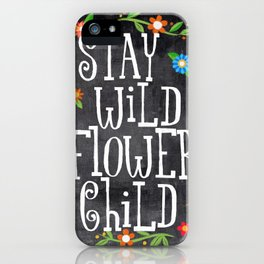 flower child iPhone Case