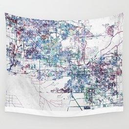 Phoenix map Wall Tapestry