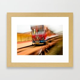 BLAST O' CoLOUR Framed Art Print