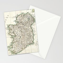 Vintage Map of Ireland (1771) Stationery Cards