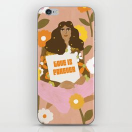 Love Is Forever iPhone Skin