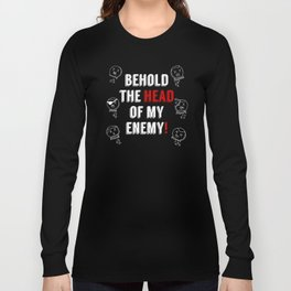 Run For Your Life Candyman - floating heads Long Sleeve T-shirt