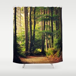 Woods Are Calling Shower Curtain