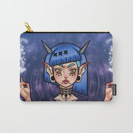 Water Demon Girl Carry-All Pouch