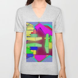 Colorplay 3d Unisex V-Neck