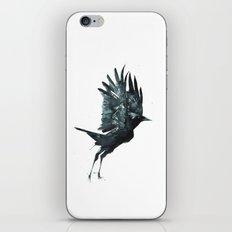 Crow Taking Off iPhone Skin