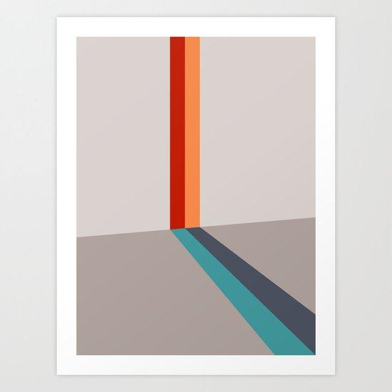 Poligonal 178 Art Print