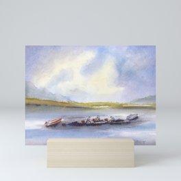 The Clam Diggers Mini Art Print