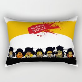 UNUSUAL SUSPECTS : Inglourious Rectangular Pillow