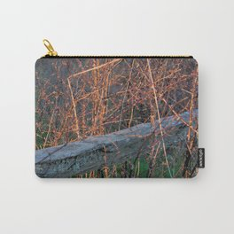 Straw Pi over fence Carry-All Pouch