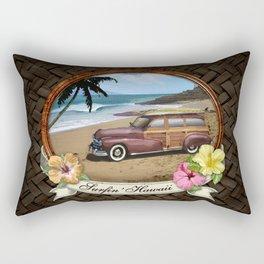 Surfin' Hawaii Rectangular Pillow