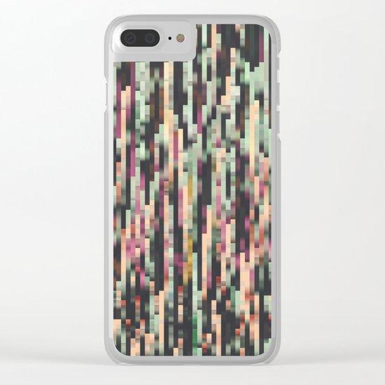 Pixelmania IV Clear iPhone Case