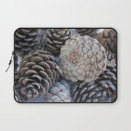 Stone Pine Pinecones Laptop Sleeve