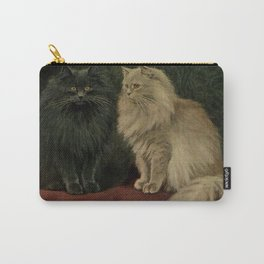 Vintage Persian Cat Illustration (1903) Carry-All Pouch