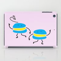 macaron iPad Cases featuring Dancing macaron by Cindys