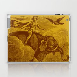 The Occult Golden Elephant Laptop & iPad Skin