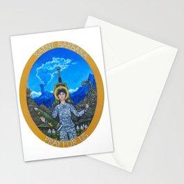 Saint Barbara Stationery Cards