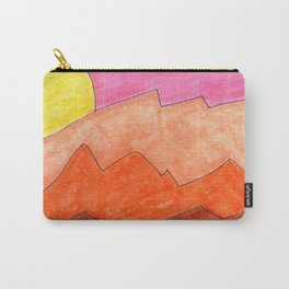 Sketchbook Sunset Carry-All Pouch