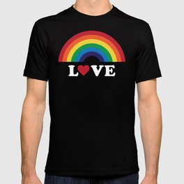 70's Love Rainbow T-shirt