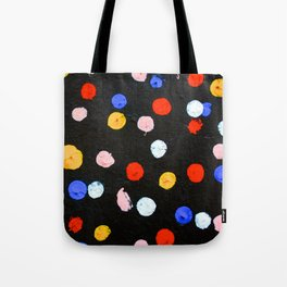 Graffiti Dots Tote Bag