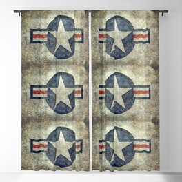US Air force style insignia V2 Blackout Curtain