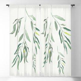 Eucalyptus Branches II Blackout Curtain