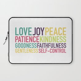 Fruits of the Spirit Laptop Sleeve