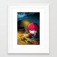 cinderella Framed Art Prints featuring Cinderella by  • naylapulga
