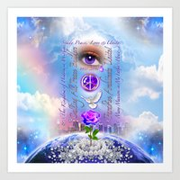 The Kingdom of Heaven is Within Art Print