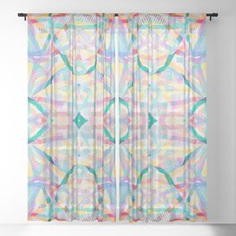 Sublime Summer Sheer Curtain