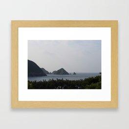Ocean View Framed Art Print