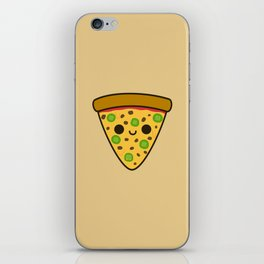 Yummy spicy pizza iPhone Skin