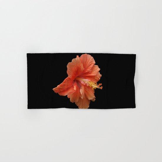 Double Orange Hibiscus DPG160419 Hand & Bath Towel