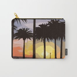 """Landscape """"Sunset at Palisades Park"""" Carry-All Pouch"""