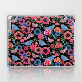 Mod floral bright & butterflies & birds Laptop & iPad Skin