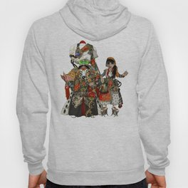 Cyber Sultan and Sultana.  Hoody