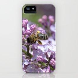 Abeja en el lilo iPhone Case